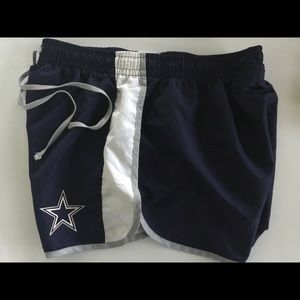 Dallas Cowboys WOMENS Running Shorts